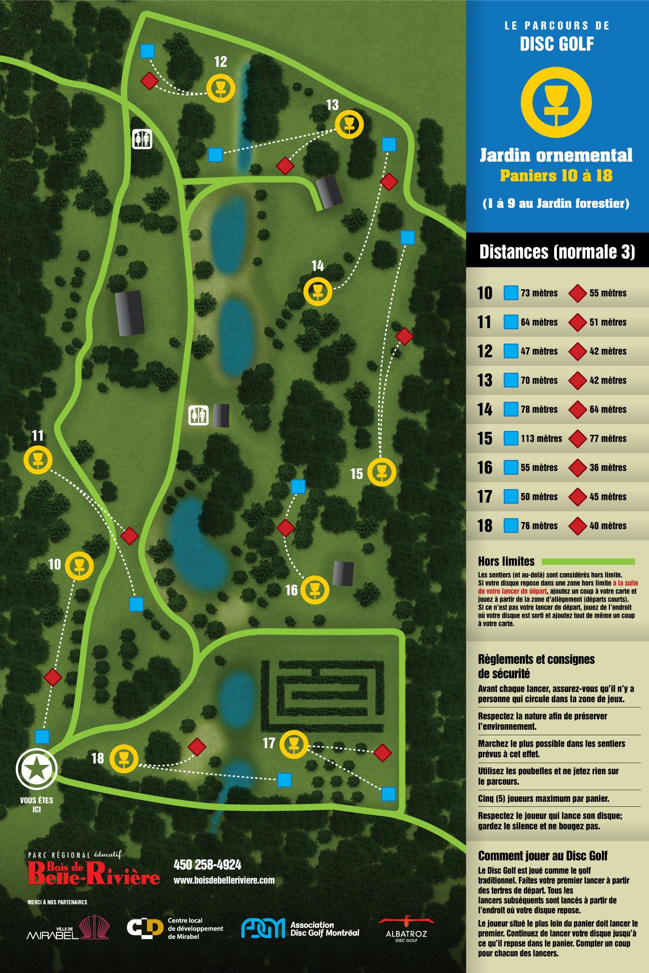 Parcours Disc Golf Bois De Belle